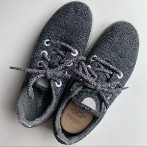 Allbirds Natural Grey Wool Runners - Soft Sneakers